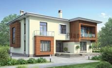 Проект кирпичного дома 38-25