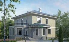 Проект кирпичного дома 38-29