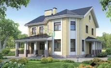 Проект кирпичного дома 38-34