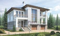 Проект кирпичного дома 38-37