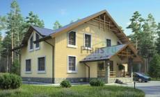 Проект кирпичного дома 38-38