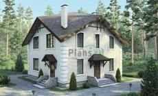 Проект кирпичного дома 38-40
