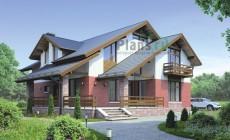 Проект кирпичного дома 38-42