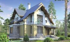 Проект кирпичного дома 38-43