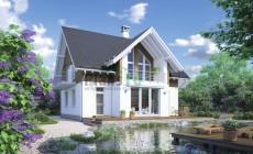 Проект кирпичного дома 38-44