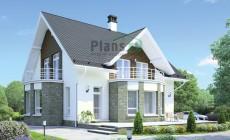 Проект кирпичного дома 38-46