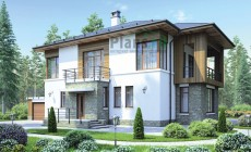 Проект кирпичного дома 38-47