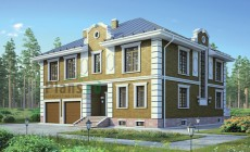 Проект кирпичного дома 38-51