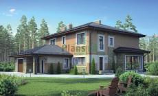 Проект кирпичного дома 38-57