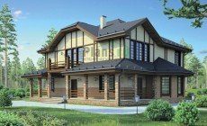 Проект кирпичного дома 38-61