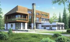 Проект кирпичного дома 38-62