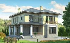 Проект кирпичного дома 38-69