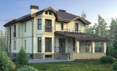 Проект кирпичного дома 38-70