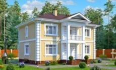 Проект элегантного двухэтажного особняка в классич