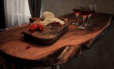 Кухонная столешница и барная стойка из массива
