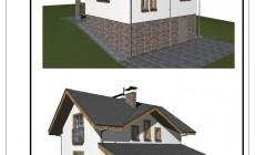 Проект частного загородного дома для семьи