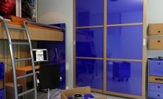 Шкаф-купе с использованием стекла