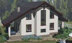 Проект небольшого шале с 5 спальнями СВЕТЛЫЙ