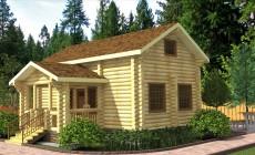 Проект дома-бани AM-2063