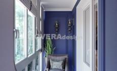 Дизайн балкона в стиле Ар деко