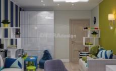 Дизайн проект небольшой 2х комнатной квартиры в стиле Арт Деко