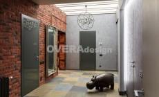 Реализованный Дизайн проект одноэтажного загородного дома 190 кв