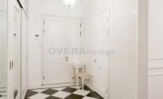 4-ная кв.113 кв.м. Реализованнный проект квартиры в стиле английская классика