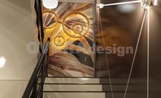 350 кв.м Загородный дом. Дизайн проект в стиле Ар Деко
