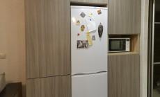 Кухня в квартиру-студию.