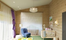 Дизайн проект деревянного загородного дома из бруса 300 кв м