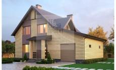 Проект компактного загородного дома