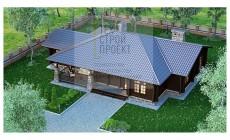 Проект большого одноэтажного дома
