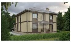 Проект большого двухэтажного дома