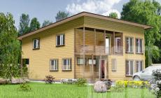 Двухэтажный дом 12 х 10 м, 240 кв. м.