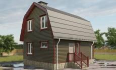 Проект небольшого дома 79 кв.м / Артикул СПС-106
