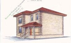 Рабочий проект 2-х этажного дома