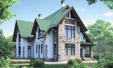 Проект кирпичного дома 38-73