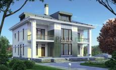 Проект кирпичного дома 38-75