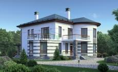 Проект кирпичного дома 38-78