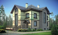 Проект кирпичного дома 38-85
