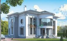 Проект кирпичного дома 38-93
