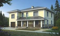 Проект кирпичного дома 38-96