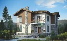Проект кирпичного дома 38-97