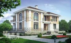 Проект кирпичного дома 39-98