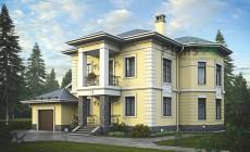Проект кирпичного дома 38-99
