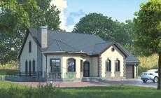Проект кирпичного дома 39-00