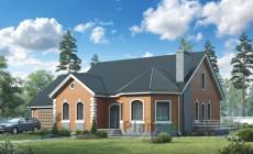 Проект кирпичного дома 39-01
