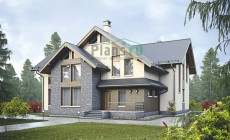 Проект кирпичного дома 39-02