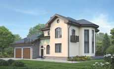 Проект кирпичного дома 39-06