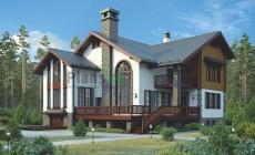 Проект кирпичного дома 39-07